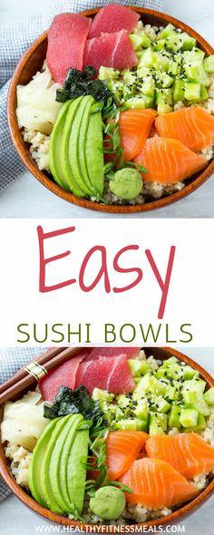 Easy Sushi Bowl