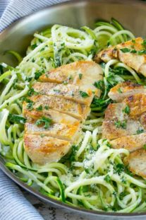 a low carb chicken and noodle recipe