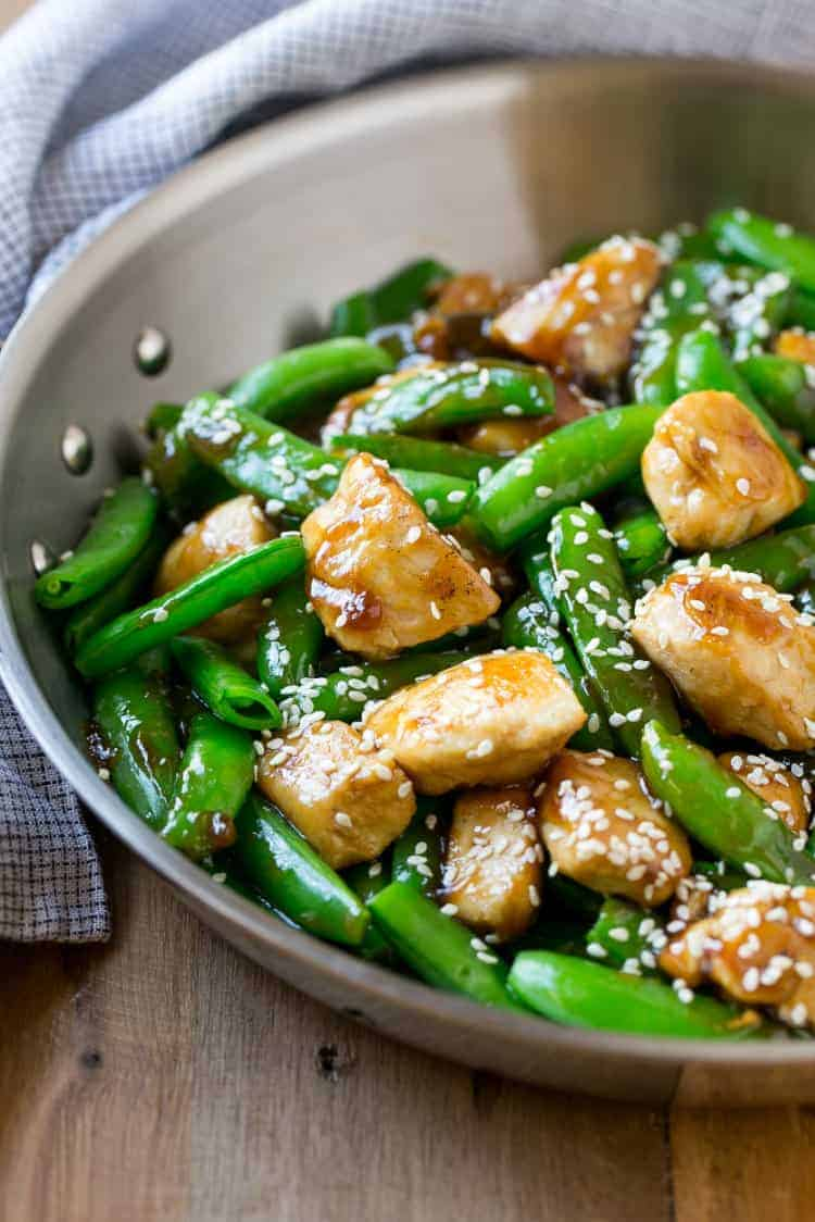 chicken and veggies stir fry recipe
