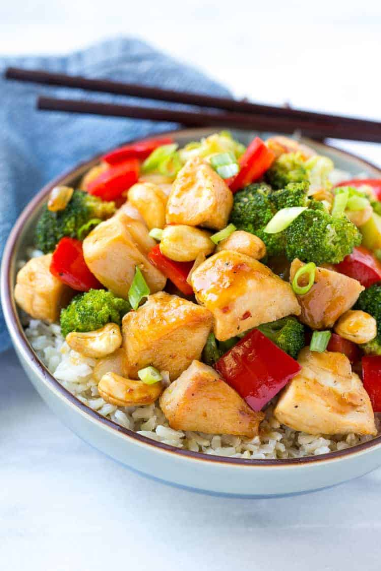 Spicy Chicken Stir Fry Healthy Dinner Recipe For The Whole Family