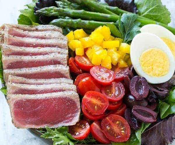 Ahi Tuna Nicoise Salad Recipe