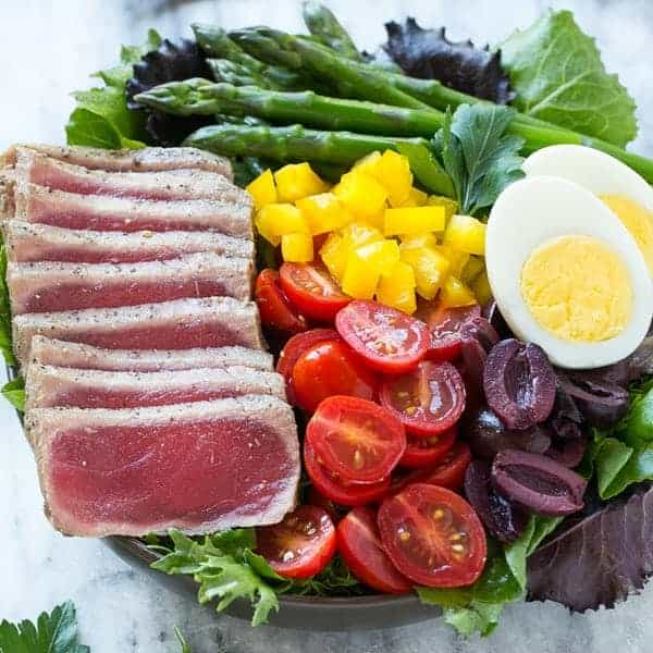Ahi Tuna Salad  Recipe