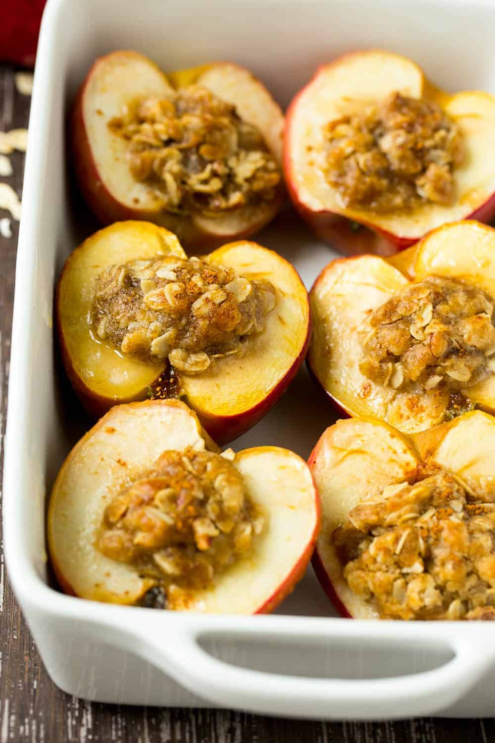 Baked Apples Recipe Dairy Free Breakfast Healthy Fitness Meals