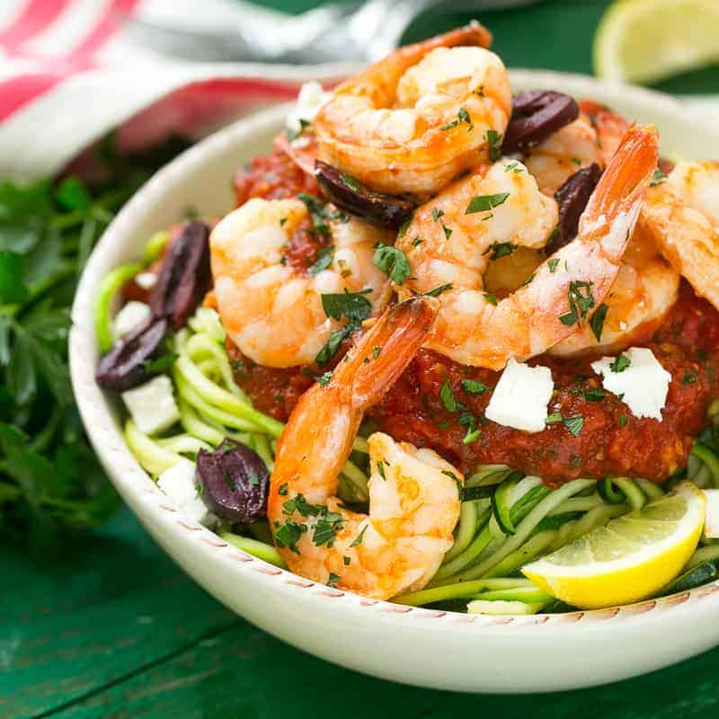 shrimp zoodles recipe