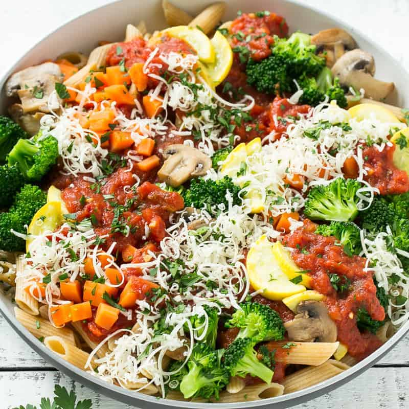 Healthy Pasta Primavera Recipe