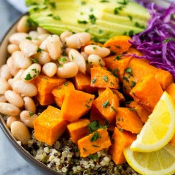 plant based wholesome dish