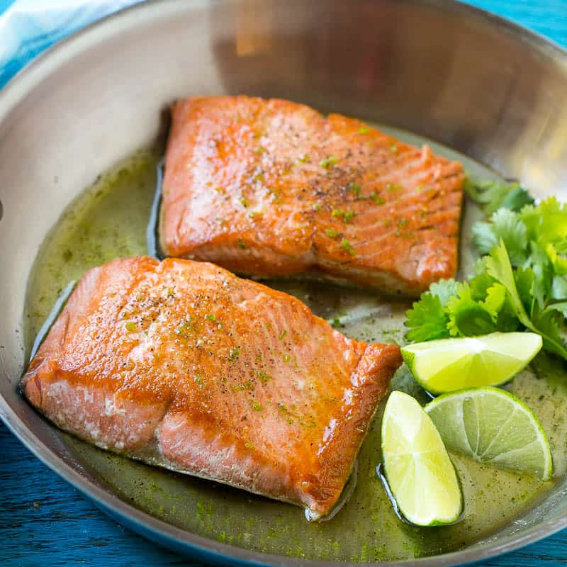 what does salmon  taste like