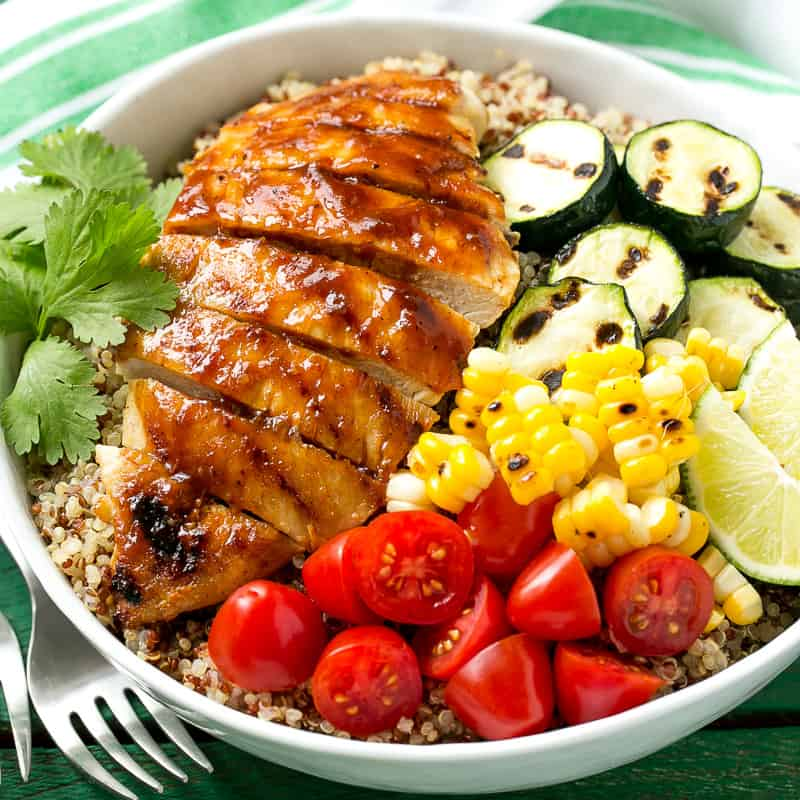 BBQ chicken bowl