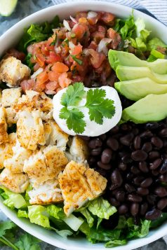 Fish Taco Salad Bowl Recipe