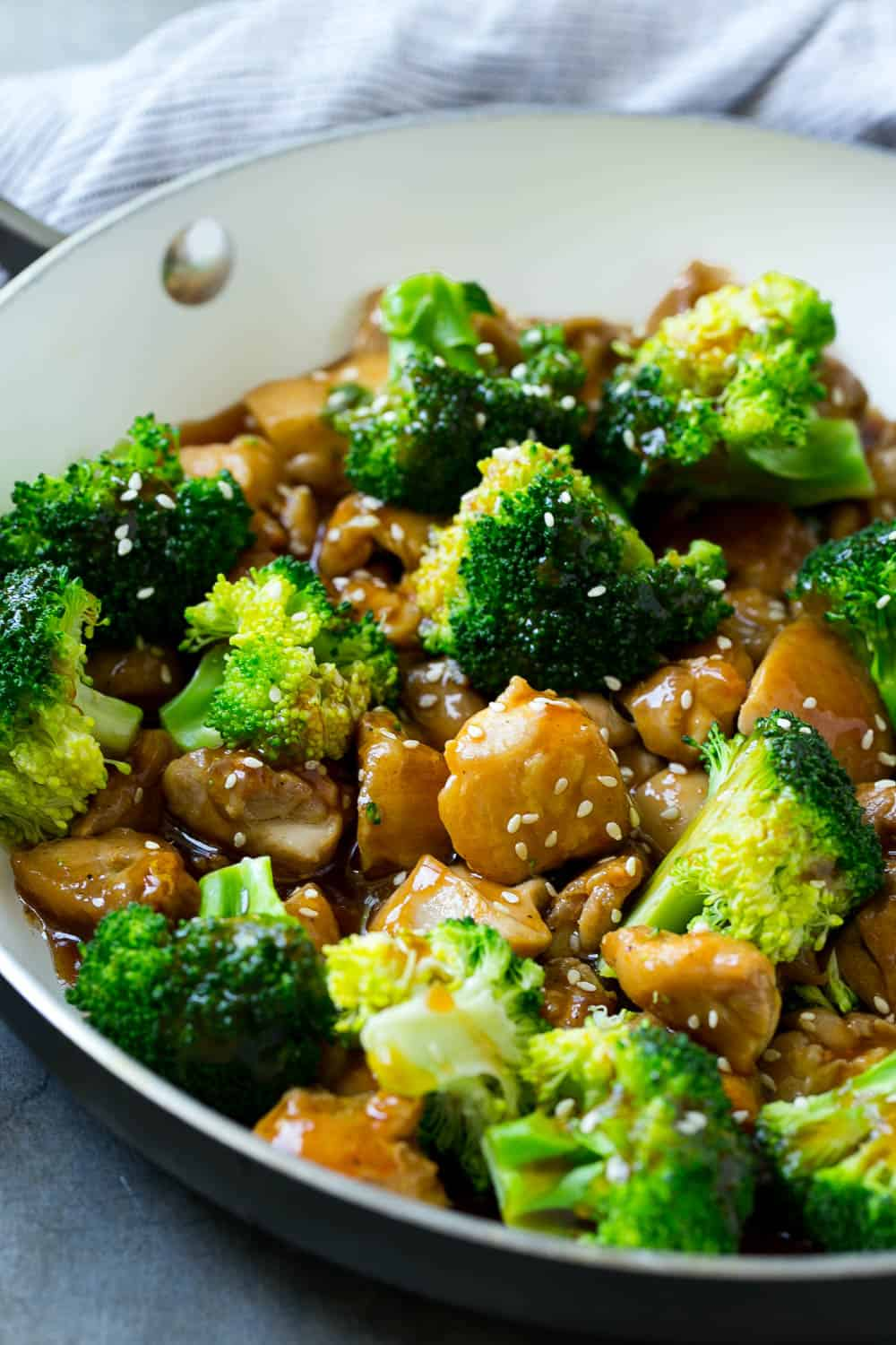 Chicken And Broccoli Stir-Fry  Healthy Fitness Meals-1207