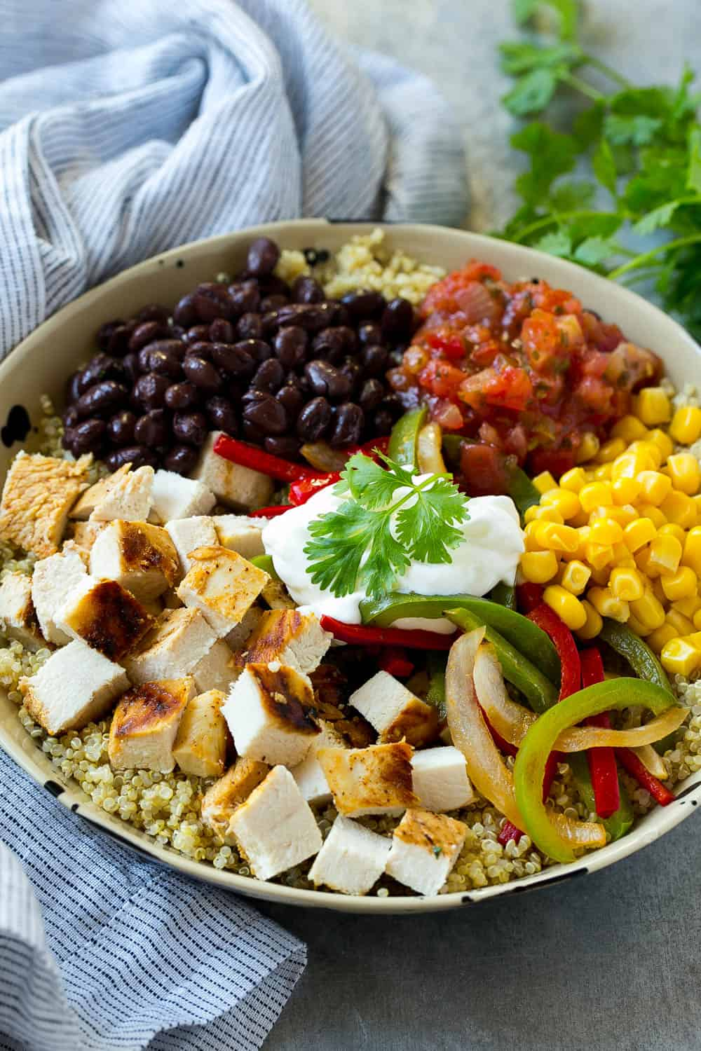 chicken bowl recipe