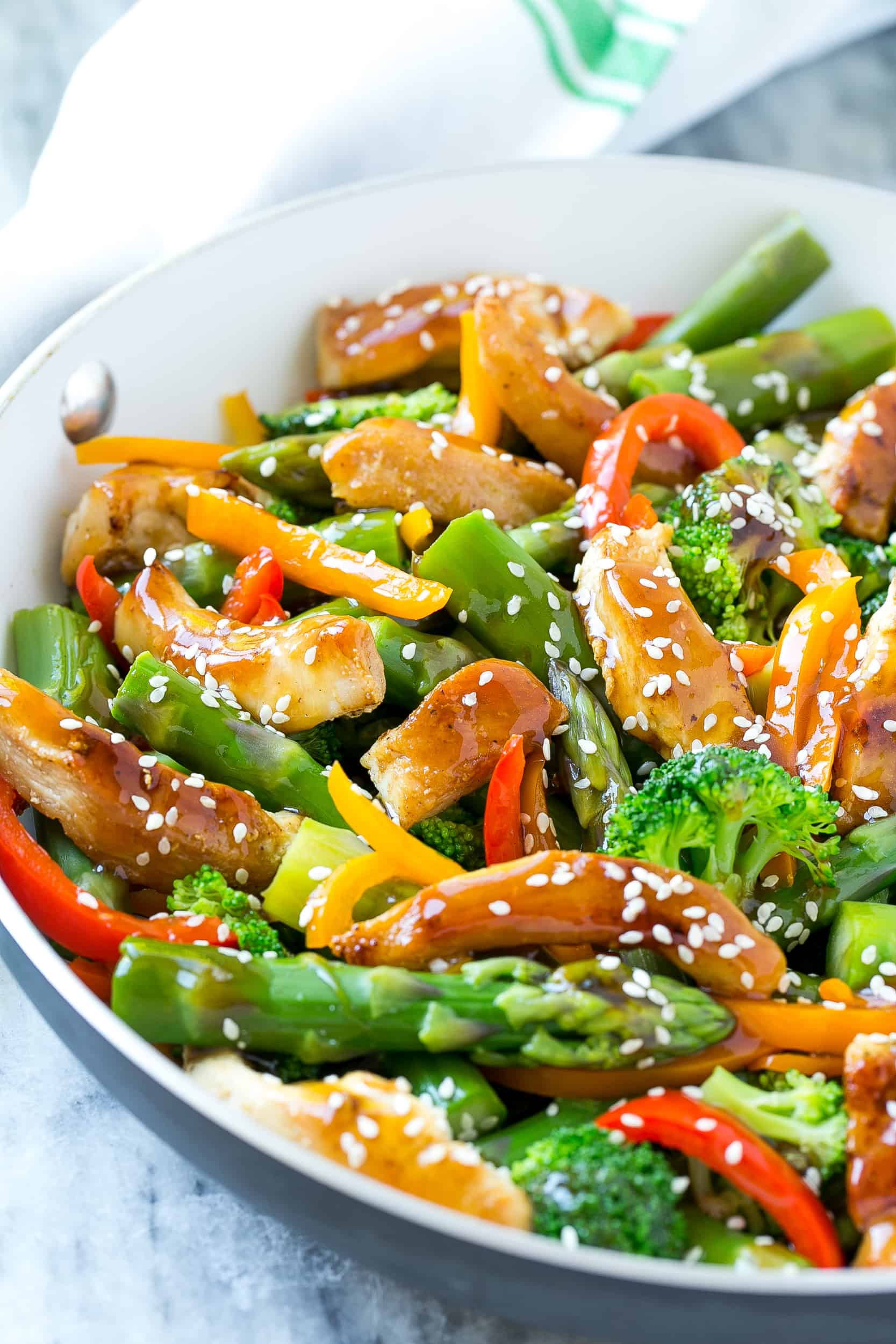 The Best Teriyaki Chicken Stir Fry Recipe Healthy Fitness Meals