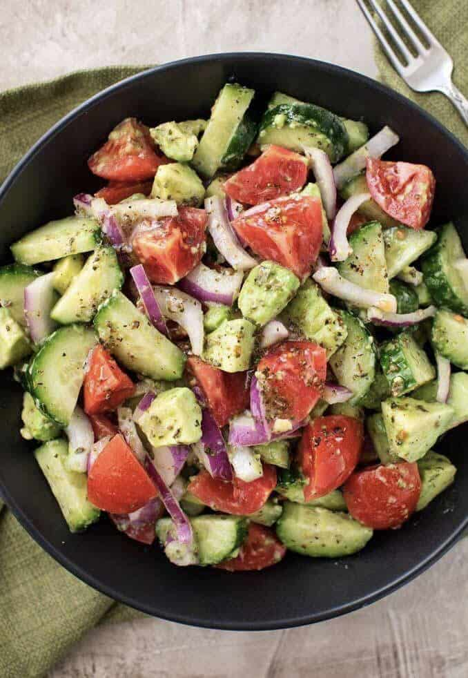 Avocado Salad Recipes Healthy