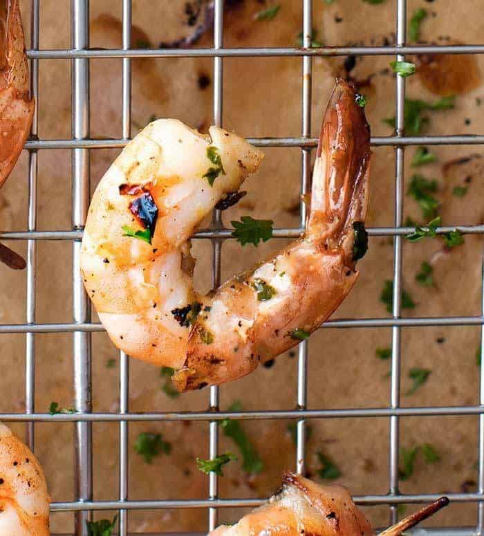 Honey Lemon Shrimp