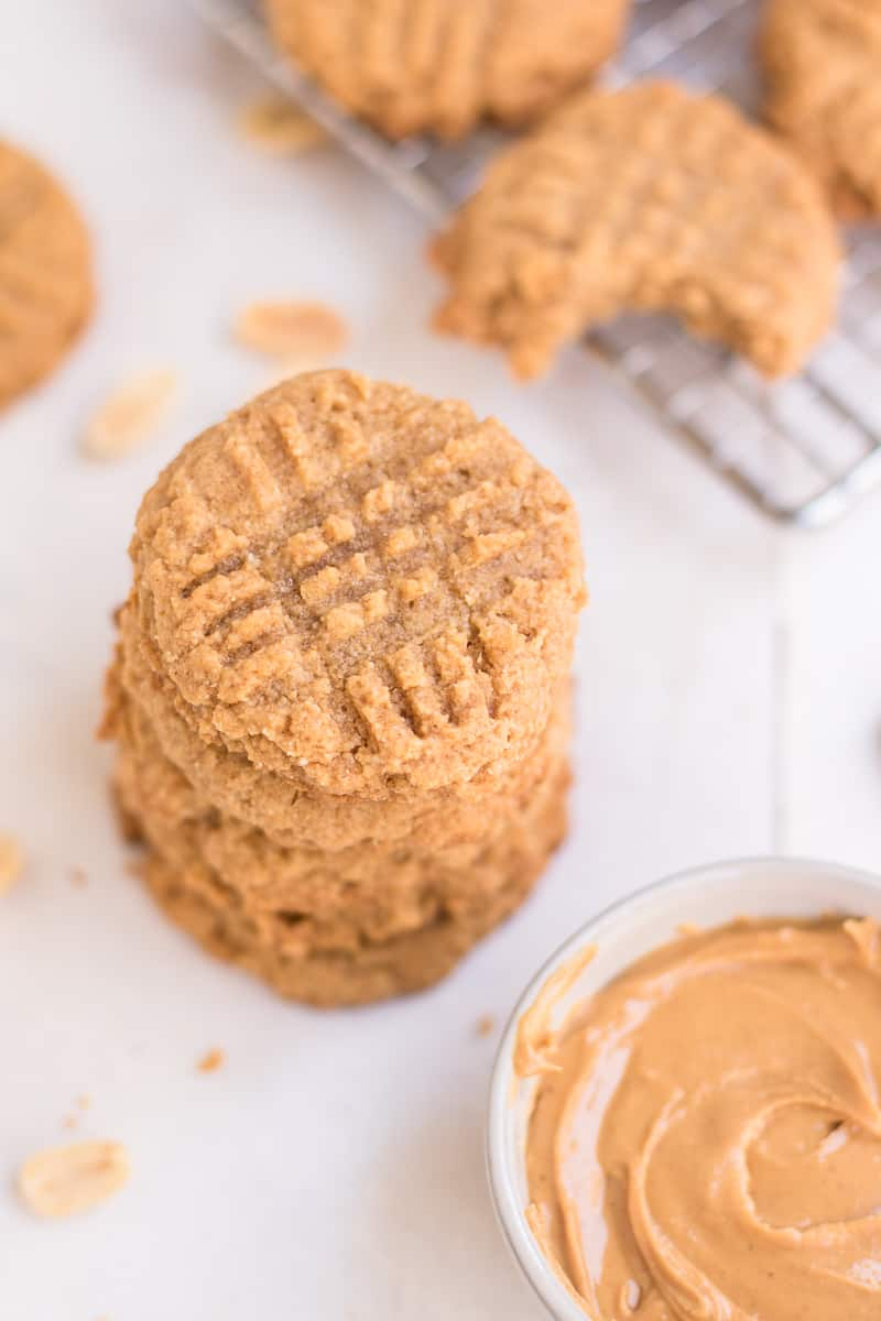 Peanut Butter Keto Cookies