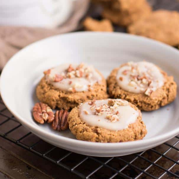 easy to make crunchy  Pumpkin Cookies.