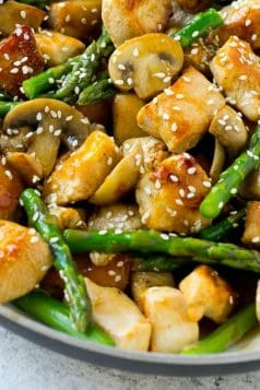Easy Chicken Asparagus Stir Fry