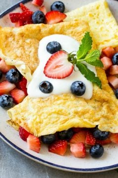 Protein Breakfast Crepes