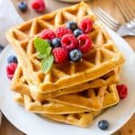 healthy protein waffles Recipe