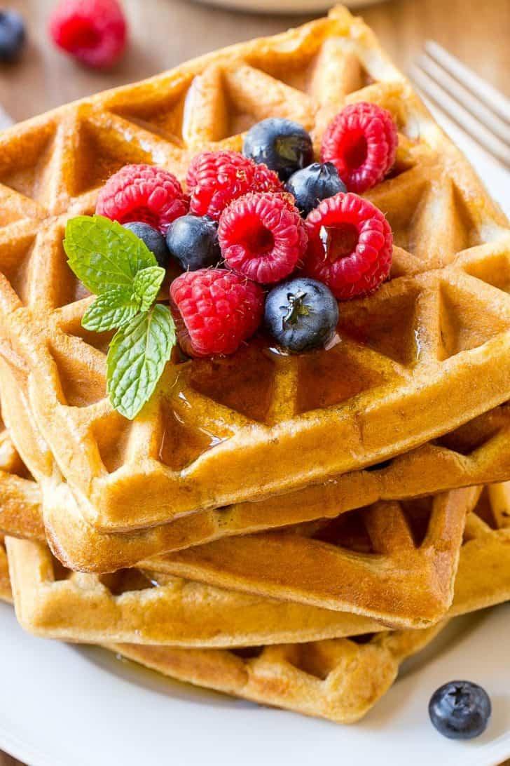 healthy protein waffles Recipe