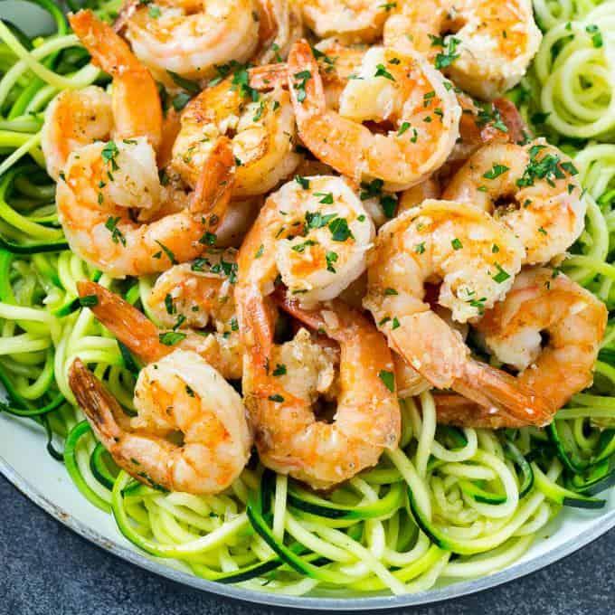 Shrimp Scampi pasta