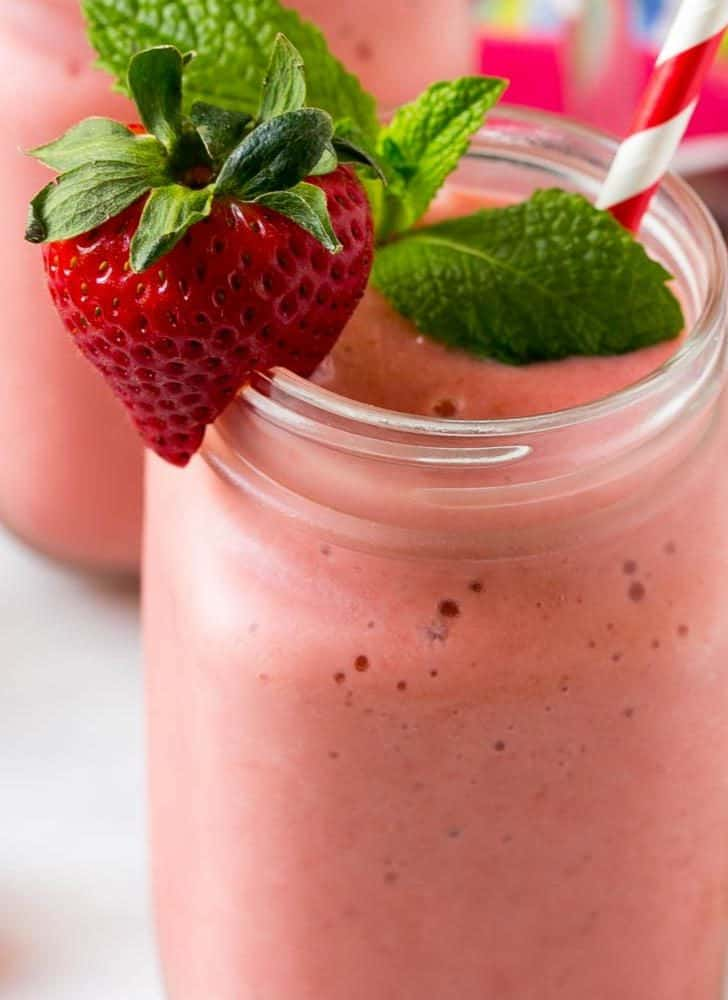 Strawberries and Cream Smoothie