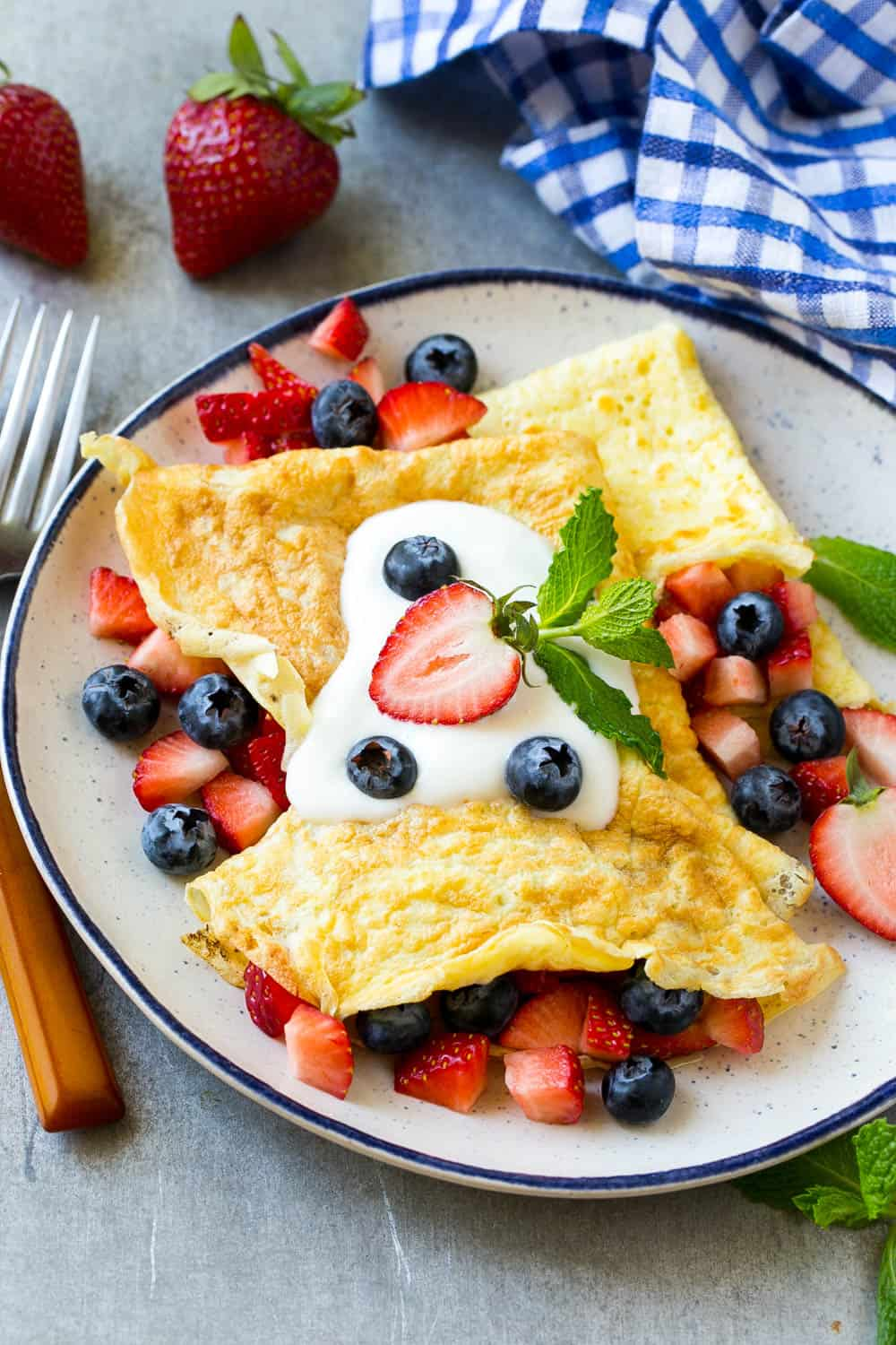 Low Carb Protein Breakfast Crepes Recipe Healthy Fitness Meals