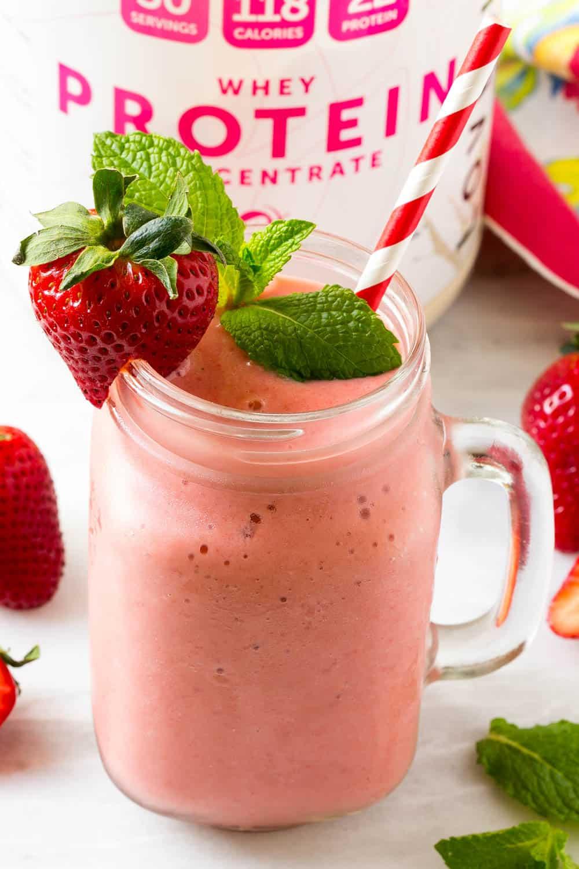 high protein smoothie recipe