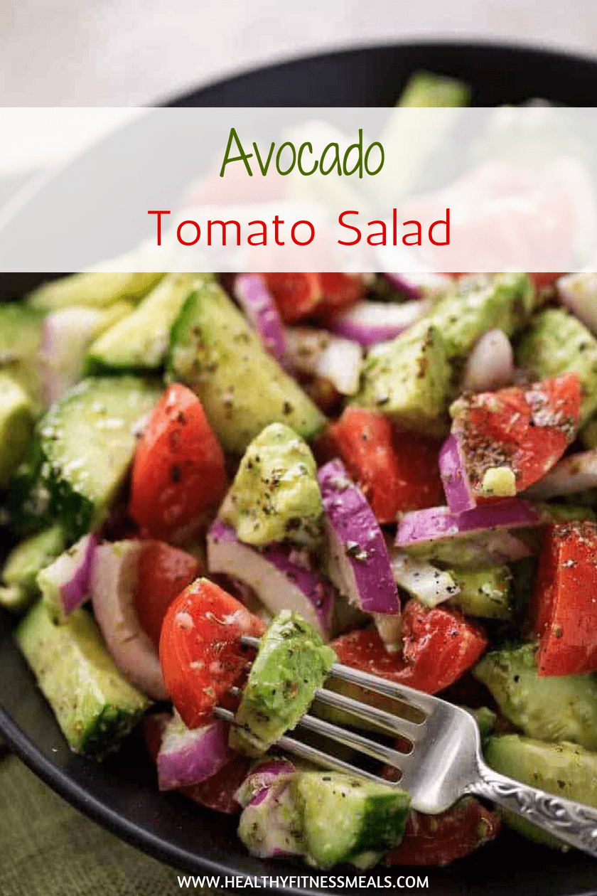 AVOCADO TOMATO SALAD | Salad Recipe | Healthy Salad | Tomato Salad | Avocado Recipe | #avocado #avocadorecipe #Healthysalad #salad #avocadosalad
