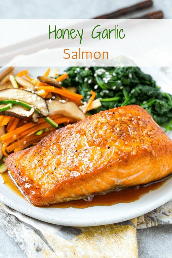 Honey Garlic Salmon Recipe