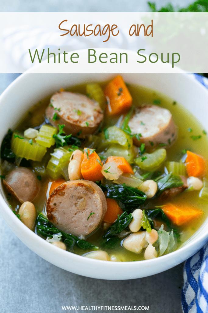 sausage white bean soup recipe