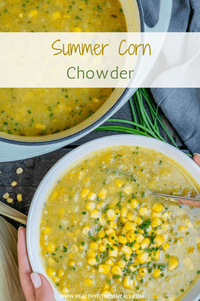 Healthy Summer Corn Chowder