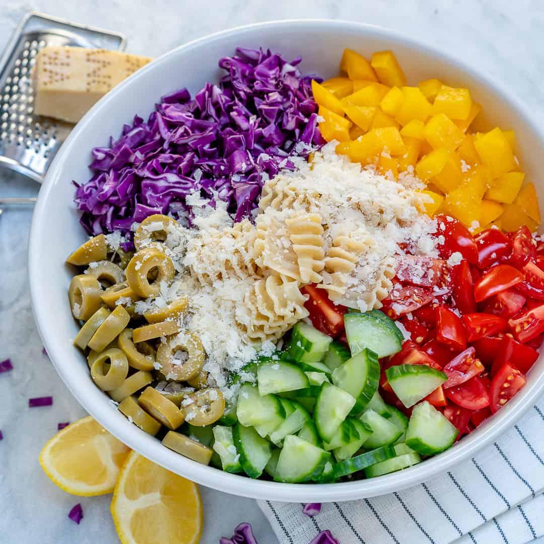 Super Veggie Pasta Salad