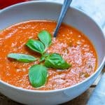 Homemade Roasted Tomato Soup