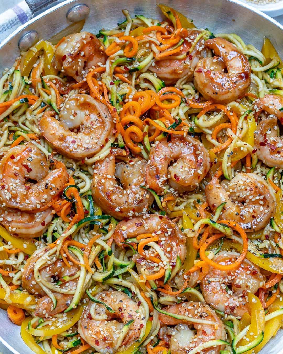 shrimp zucchini noodles