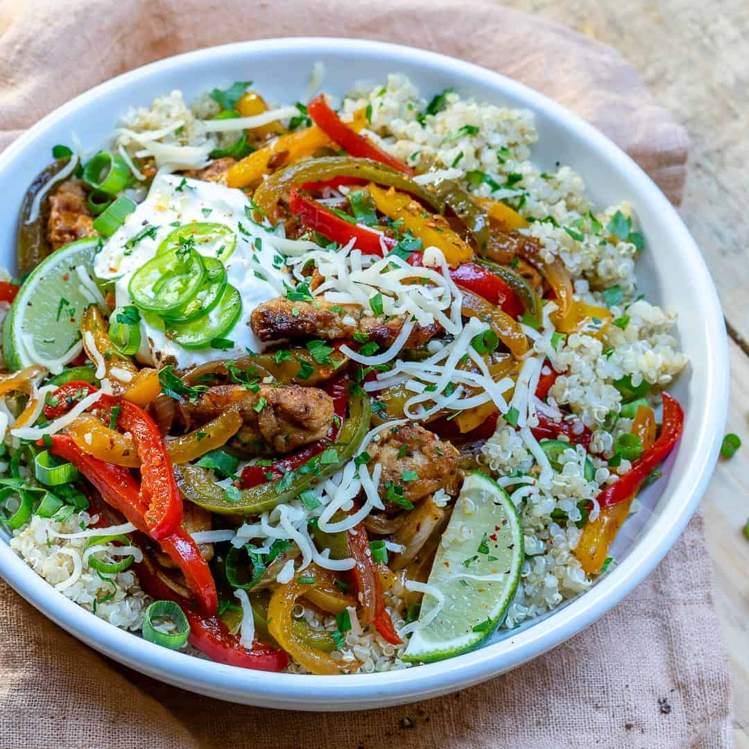 chicken mexican bowl