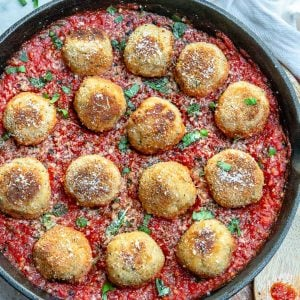 healthy Meatballs In Tomato Sauce