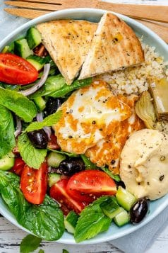 Greek Meze Power Bowl