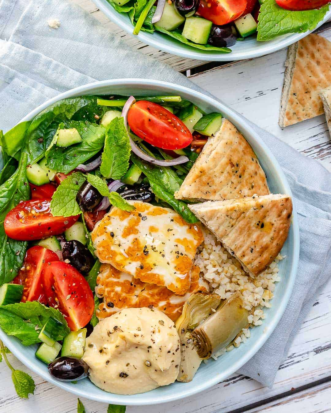 easy greek salad recipe