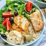 Greek Mezze bowl