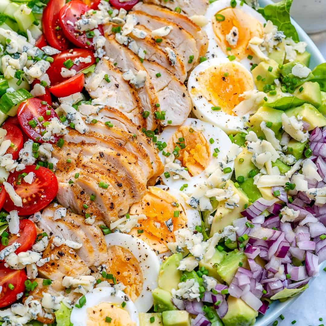 easy Cobb salad recipe