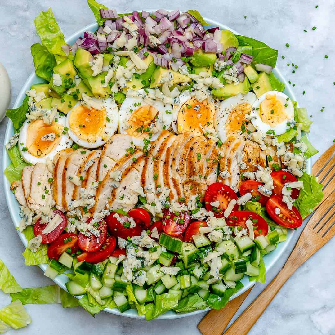 Grilled chicken Cobb salad
