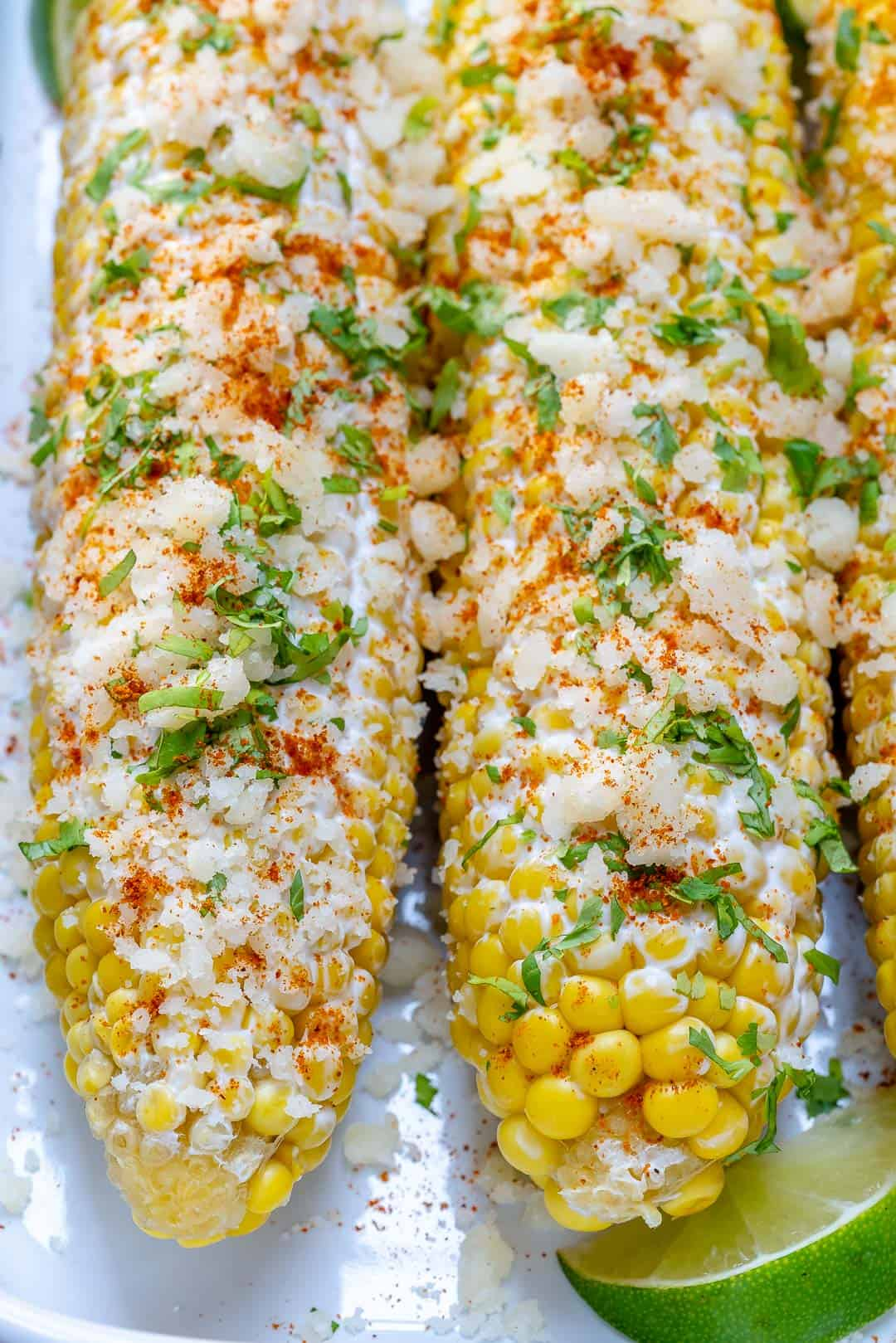 Healthy Mexican Street Corn
