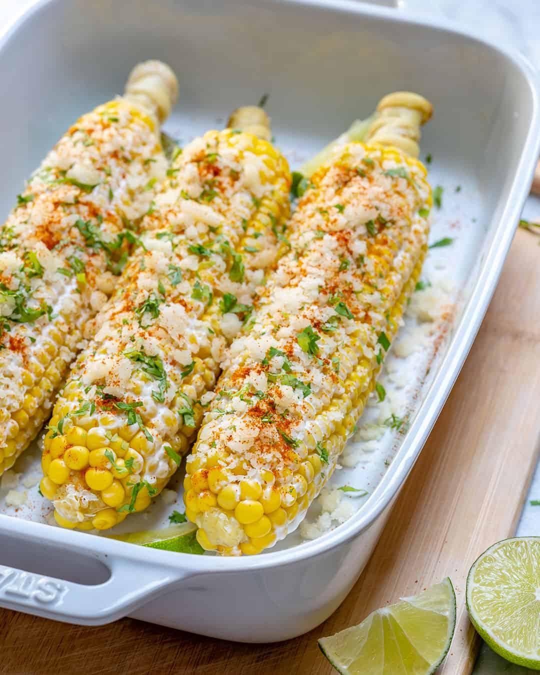 Healthy Mexican Street Corn