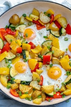 One Pan Egg and Veggie Breakfast