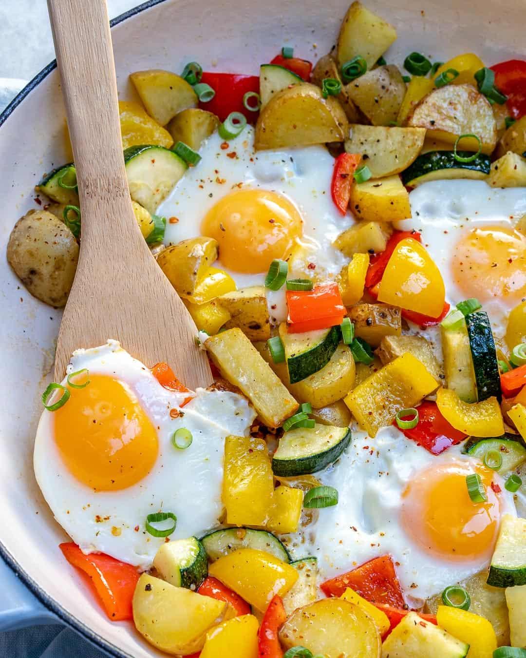 veggie skillet recipe