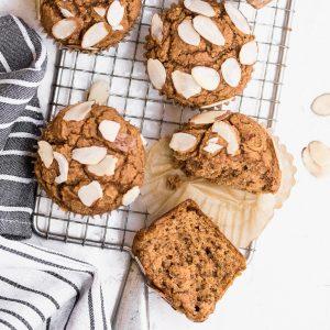 Healthy Pumpkin Chia Muffins