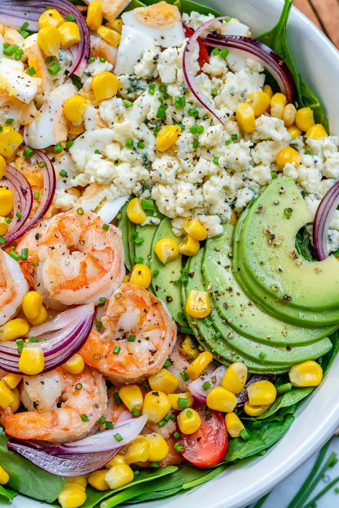 easy shrimp avocado salad recipe