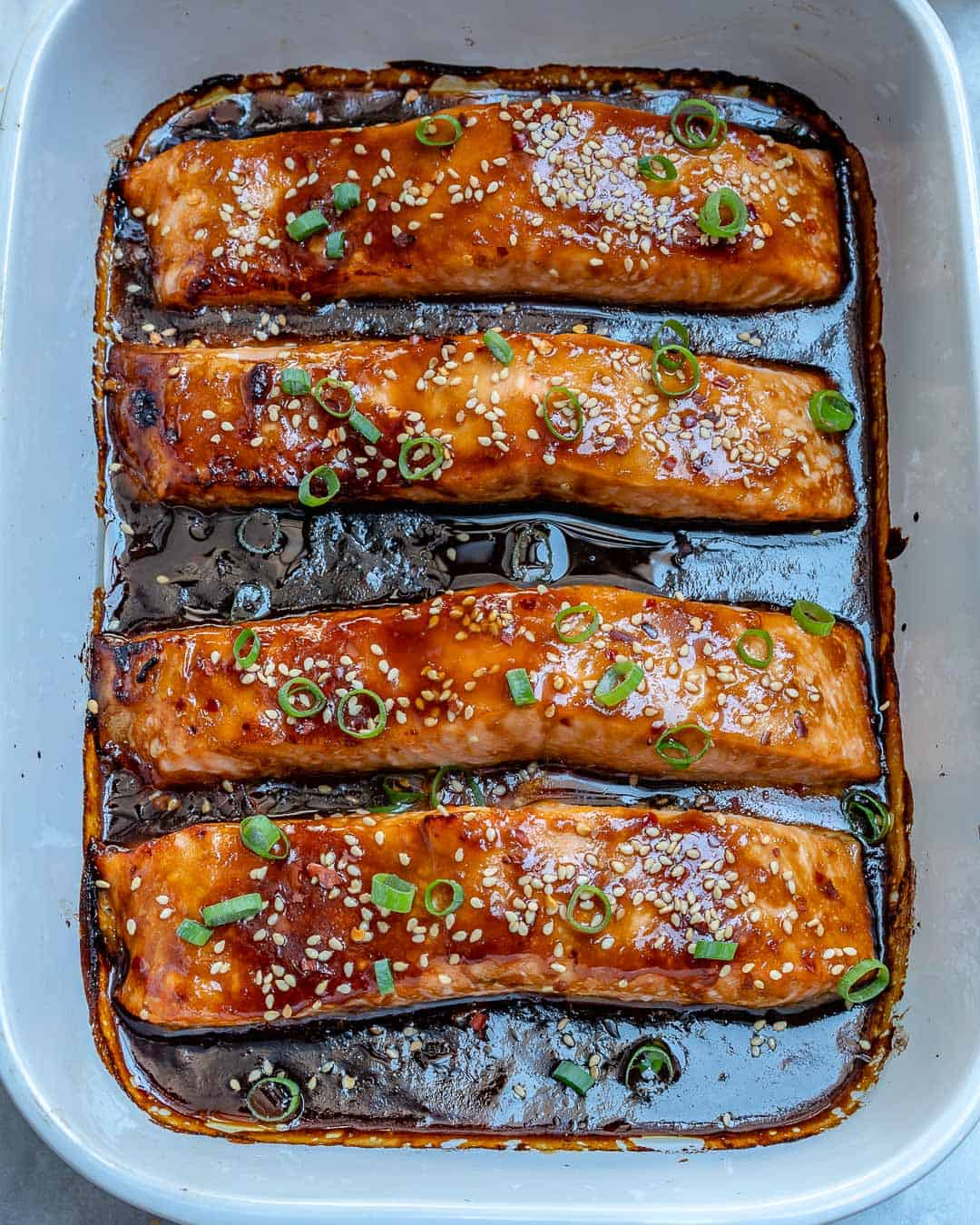Easy Baked Teriyaki Salmon Recipe With Video Healthy Fitness Meals