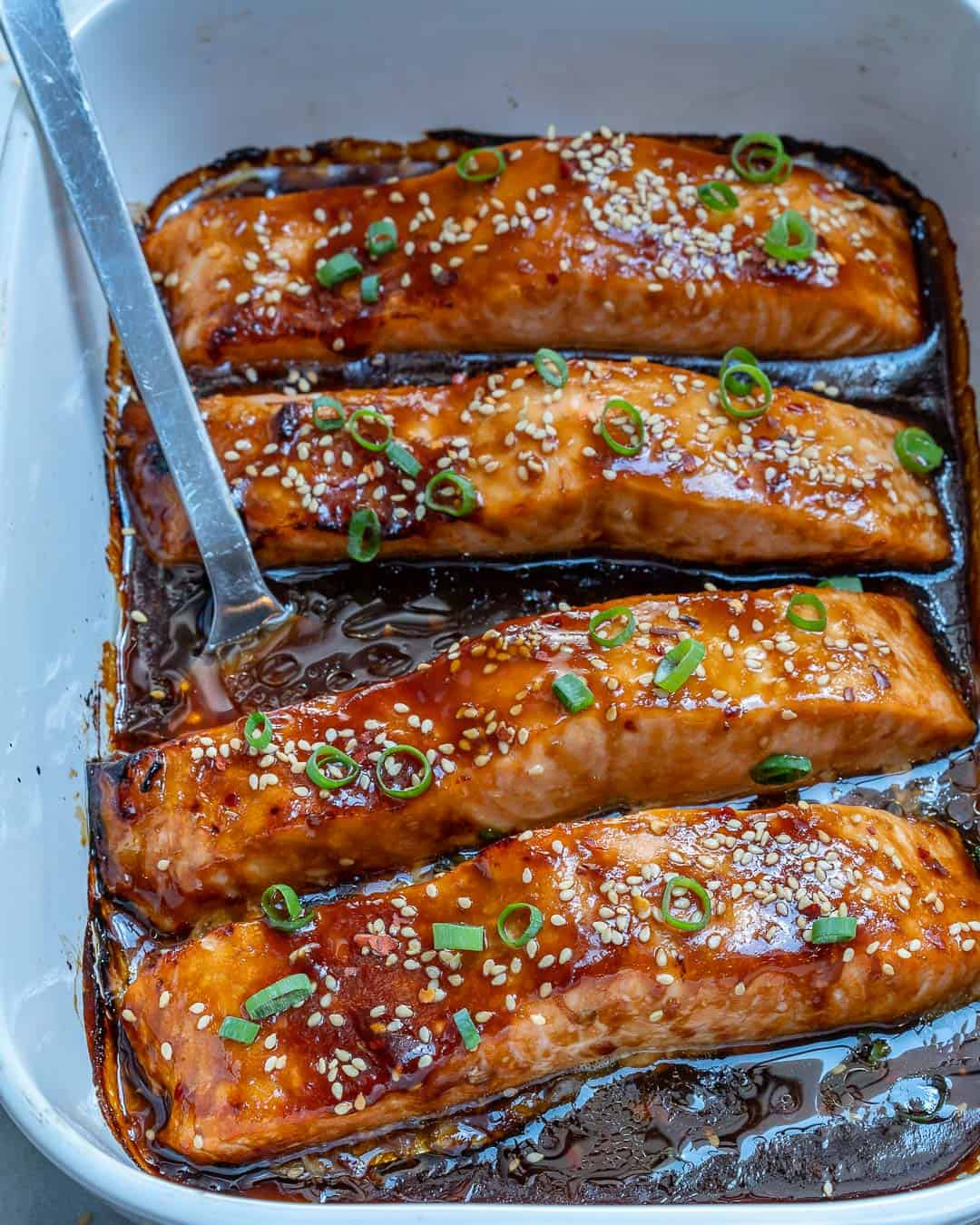 Teriyaki Salmon recipe